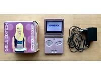 Gameboy Advance SP - Limited Girls Edition