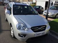 Kia carens 2.0 gs 2007 facelift model 5 door mpv people carrier mot may 2018 80000 history