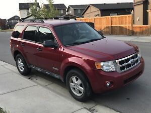 2008 Ford escape  XLT (on hold)