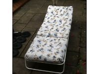 Camping bed / sun lounger