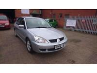 2006 / 06 Mitsubishi Lancer 1.6 EQUIPPE Full MOT+Warranty+AA Cover