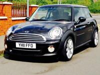 MINI 1.6 COOPER AUTO 2011 ONLY 13k LOW MILEAGE FSH MOT CLEAN&TIDY 3 MONTHS WARRANTY CALL NOW