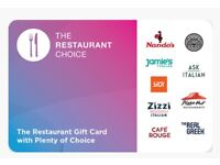 Restaurant Choice £50 Voucher