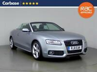 2011 AUDI A5 2.0 TDI S Line 2dr [Start Stop] Convertible