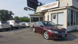 2014 Honda Accord Touring V6 - NAV! BACK-UP CAM! LEATHER!