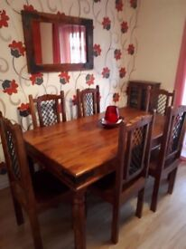 Dining room table and set