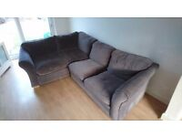 Cargo charcoal grey corner sofa bed rrp £1400 only 18 months old