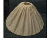 Cream Linen Framed Lampshade