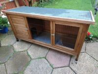 Rabbit Hutch, used but good condition, 5 x 2 feet