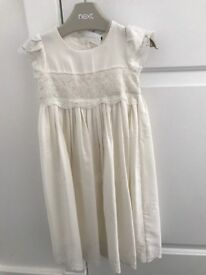 Stunning but simple christening gown