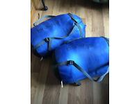 2 x ProAction Three-Season Sleeping Bags Blue