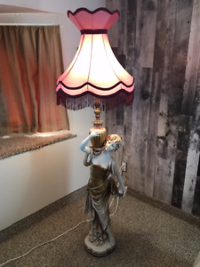 Antique Italian Statute Floor Lamp