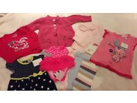 Brand new 6-9 month girls clothes bundle with labels
