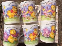 Bone china Winnie the Pooh mugs