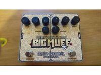 EHX Electro Harmonix Germanium Big Muff Pi Fuzz Guitar Distortion Pedal