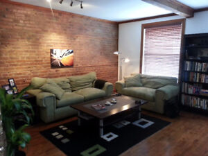 Trendy FULLY FURNISHED 5 1/2 in the Heart of the Plateau