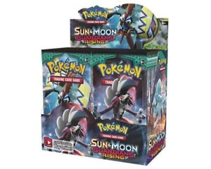 Pokemon Guardians Rising Boosters & Elite Trainers Now Available