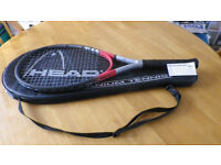 HEAD TITANIUM Ti.S2 Tennis Racquet & Cover with Adjustable Shoulder Strap