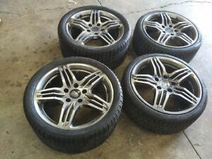 """19""""Porsche reps+ 235/35/19 & 295/30/19 Pirelli Snows-PORSCHE 911"""