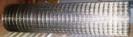 75 square Meters steel mesh roll - 50mm square - approx 1.6 meters high – approx 45 meters long –new