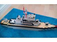 Lego mega bloks battleship