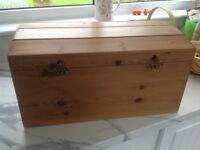 Waxed Pine Chest