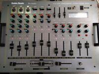 Radio Shack PSM-8080 Professional Stereo Sound Mixer. Pro series. Dj. D.j