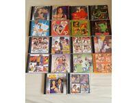 18 x Bollywood CD's