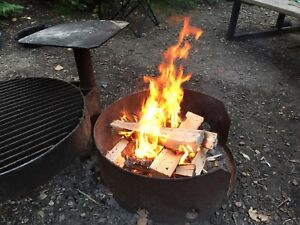 Xtra Large Bags of Dry, Split Camping Firewood in Spruce Grove