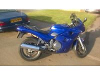 1995 Triumph Sprint 900 motorcycle Nightshade Blue
