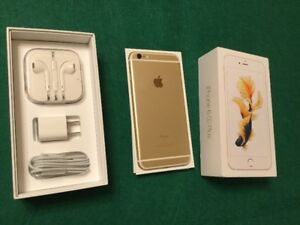 Like New Rose Gold iPhone 6S Plus 16 Gb, FIDO