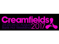 2 X CREAMFIELDS TICKETS - 4 DAY STANDARD WITH CAMPING