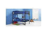 Samuel Single Bunk Bed Frame - Black