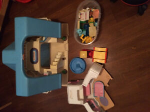 Playhouse and accessories