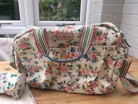 Cath Kidston nappy baby change bag