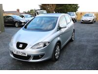 2007 Seat Altea Stylance 1.9 TDI, silver, 12 months mot, full service history, timing belt done