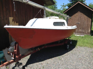 Siren 17 Sailboat Micro Cruiser
