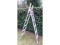 Ladder :- Combination 3 Way Ladder - Aluminium