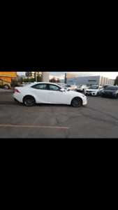 2015 Lexus IS250AWD  Sedan only 11 months left!!!!!!