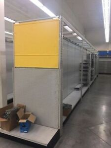 QUALITY LOZIER RACKING AND DISPLAY SHELVING.