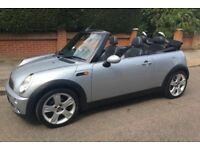 2004 AUTOMATIC MINI COOPER CABRIOLET LEATHER TRIM SERVICE HISTORY POWER ROOF VERY RARE AUTO COOPER
