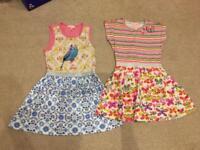 Girls designer dresses age 4-5