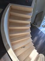 Stairs flooring & painting
