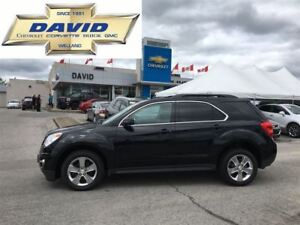 2013 Chevrolet Equinox 2LT FWD, LEATHER, RCAM, PSEATS, ROOF, LCL