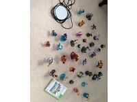 For Xbox 360 - Bundle of 34 Skylander Figures with portal and game