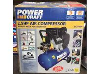 Air compressor new boxed unused with accessories