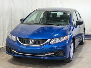 2015 Honda Civic DX Sedan Manual w/ MP3/CD Player, Low KMs