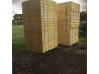 Insulation Sheets 20 x 100mm thick & 20 x 120mm thick