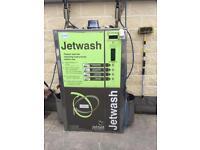 Coin operated jet wash powerwasher