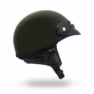 Small Half Helmet with Visor